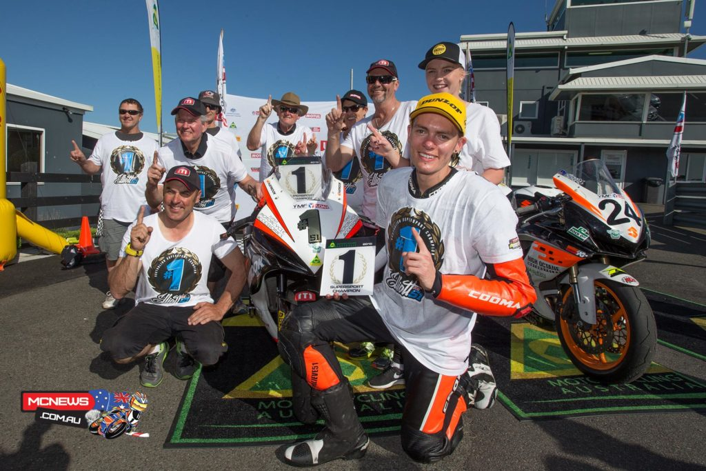 Brayden Elliott - 2015 ASBK Yamaha Australian Supersport Champion