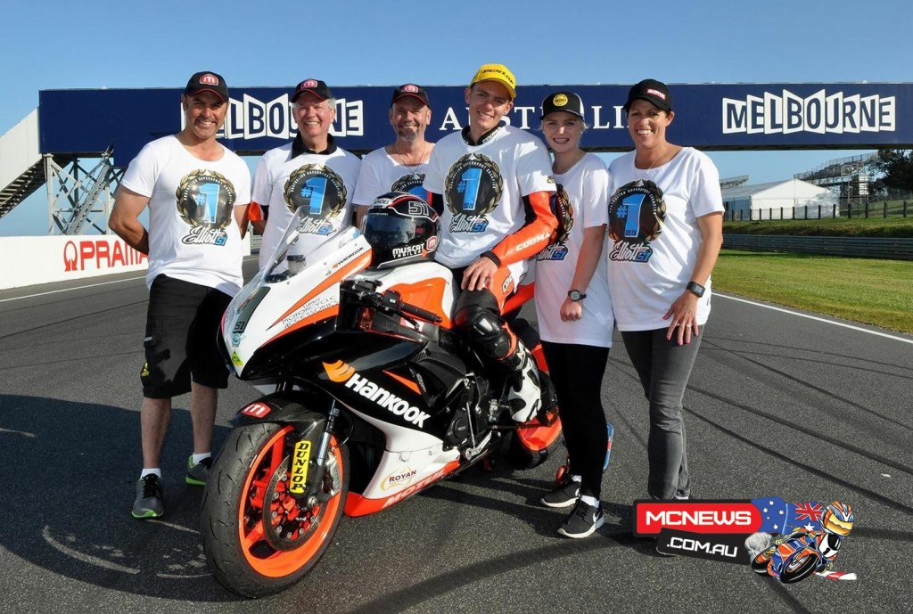 Brayden Elliott - Recently crowned the 2015 ASBK Yamaha Australian Supersport Champion, Elliott is out this weekend to add the Swann FXC Supersport crown to complete the 2015 Supersport Championship double