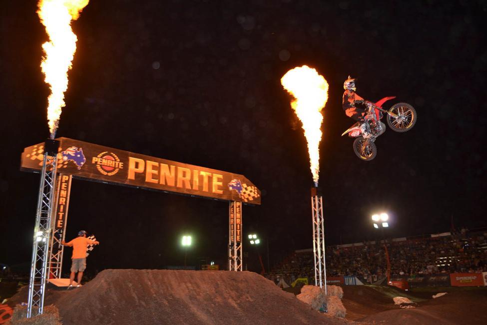 Jimmy Decotis - Australian Supercross 2015 - Round Two - Jimboomba