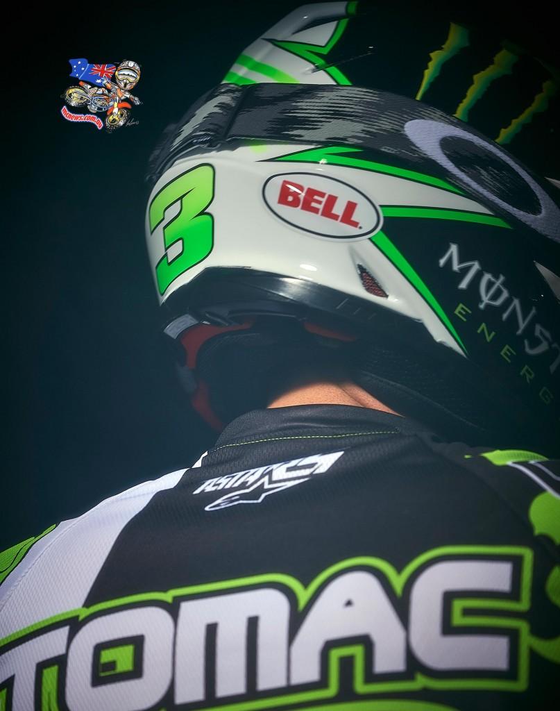 Eli Tomac - Bell Helmets