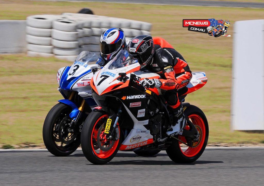 Swann Australasian FX Superbike Championship 2015 - Round Six - Winton Motor Raceway - Callum Spriggs, Brayden Elliott
