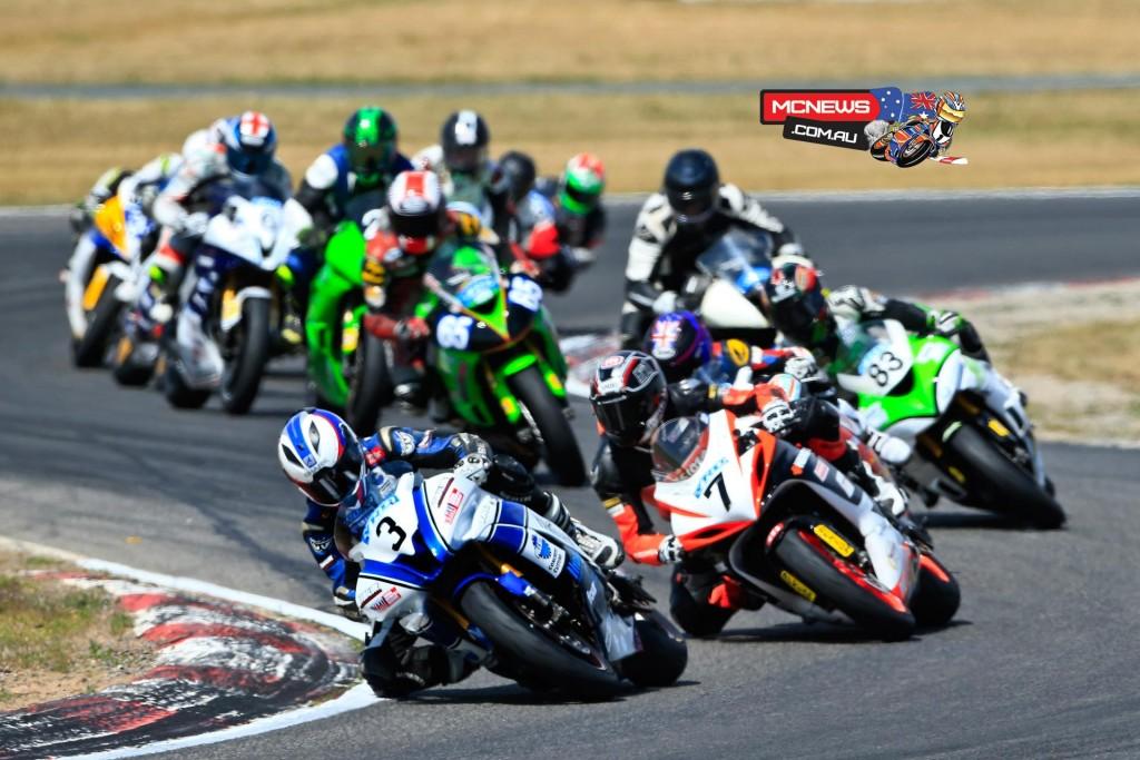 Swann Australasian FX Superbike Championship 2015 - Round Six - Winton Motor Raceway - Supersport
