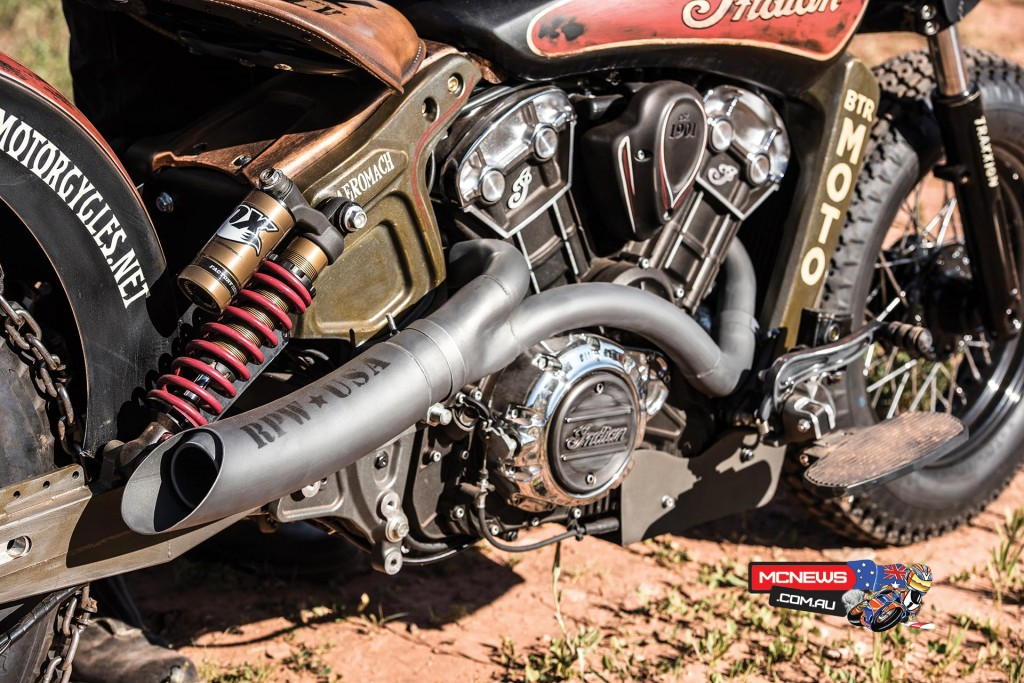"Indian Motorcycles' Custom ""Black Hills Beast"""