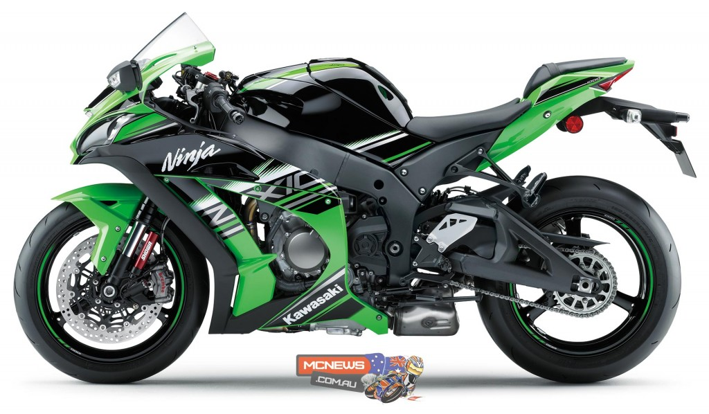 Kawasaki ZX-10R is Australia's biggest selling Japanese sportsbike