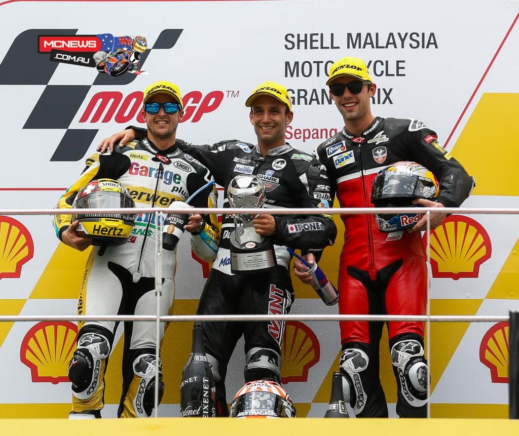 MotoGP 2015 - Sepang - Malaysia - Moto2 Podium