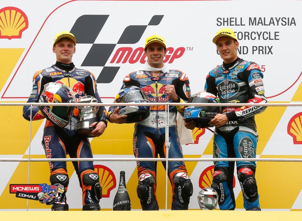 MotoGP 2015 - Sepang - Malaysia - Moto3 Podium