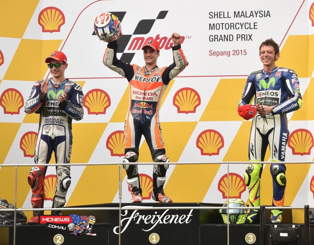 MotoGP 2015 - Sepang - Malaysia - MotoGP Podium