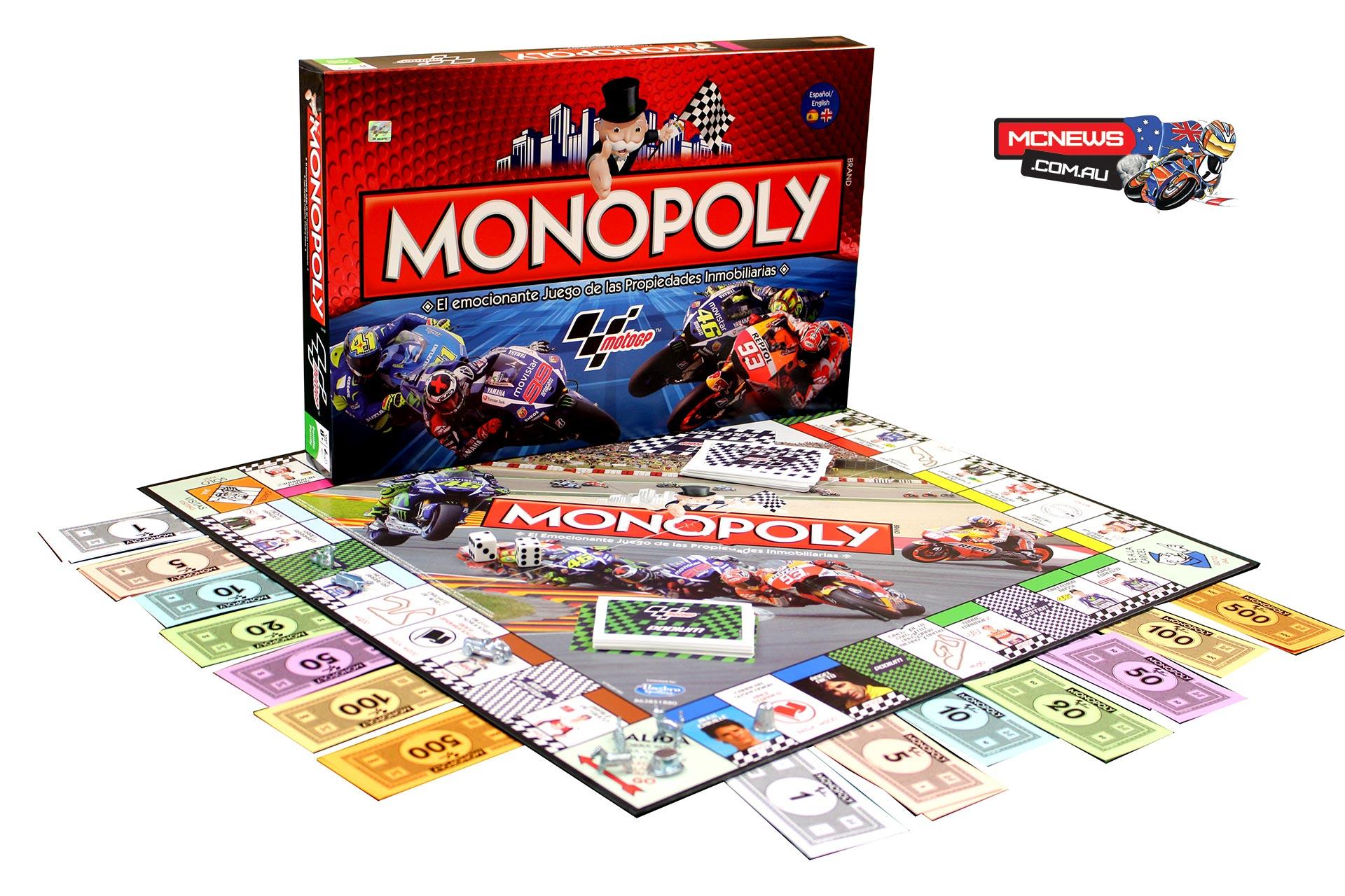 MotoGP Monopoly Edition