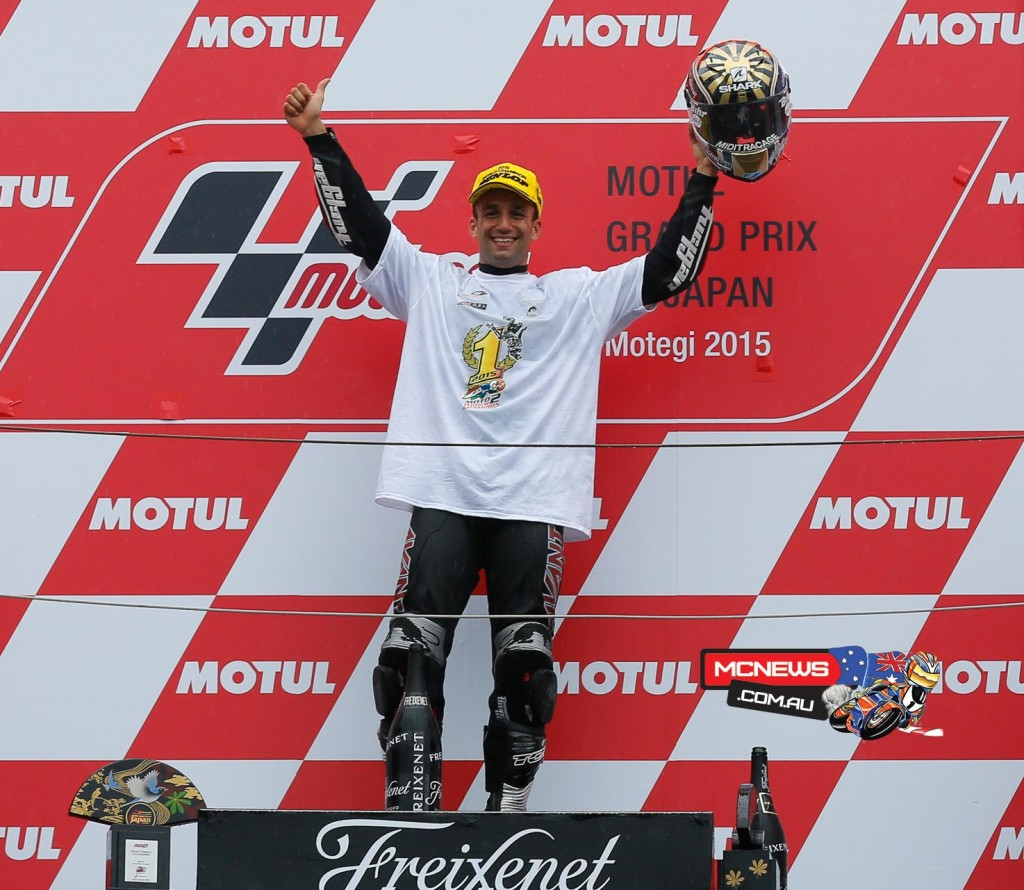 Moto2 World Champion Johann Zarco put on a masterful display to take his seventh win of the season at the Twin Ring Motegi in the wet.