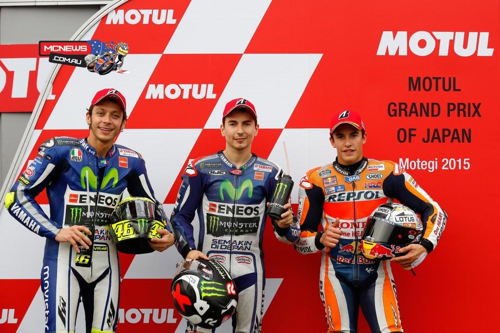 MotoGP Motegi 2015 Qualifying