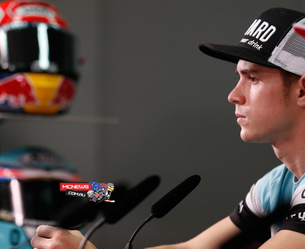 MotoGP Sepang Malaysian Grand Prix Press Conference - Danny Kent