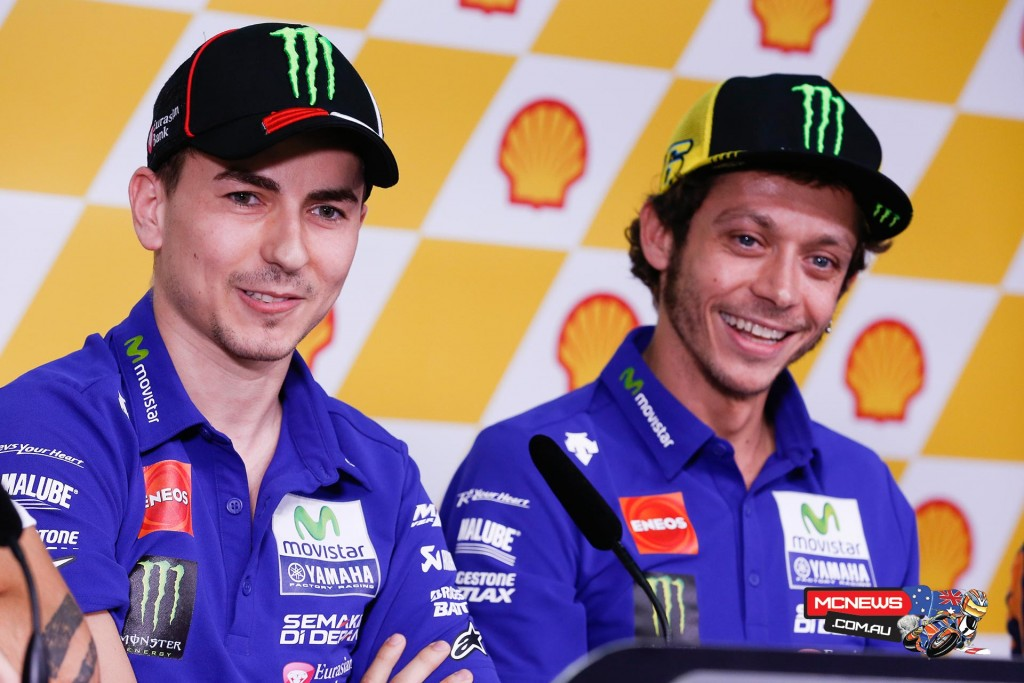 MotoGP Sepang Malaysian Grand Prix Press Conference - Valentino Rossi and Jorge Lorenzo