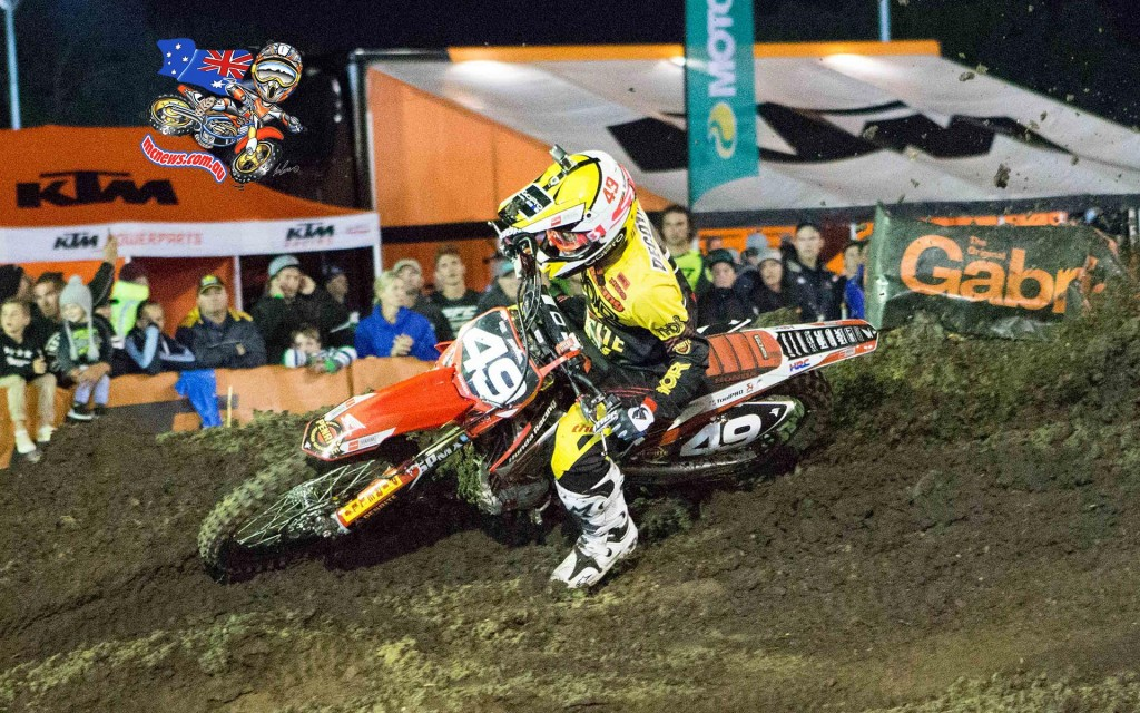 American Jimmy Decotis won the SX2 Final - Marc Jones Photography