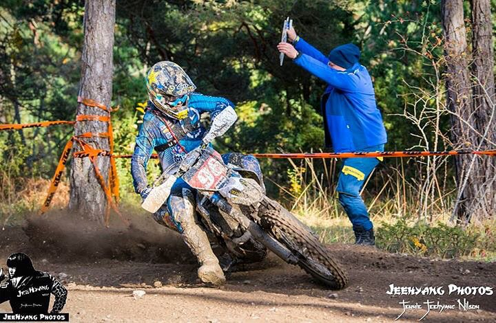 Josh Strang won the Gotland Grand National in Sweden