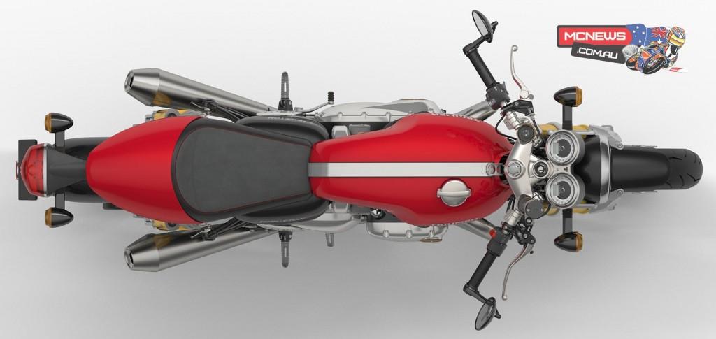 Triumph Thruxton R - Diablo Red