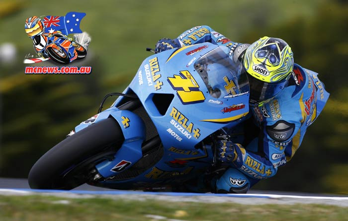 Chris Vermeulen - Phillip Island - 2006