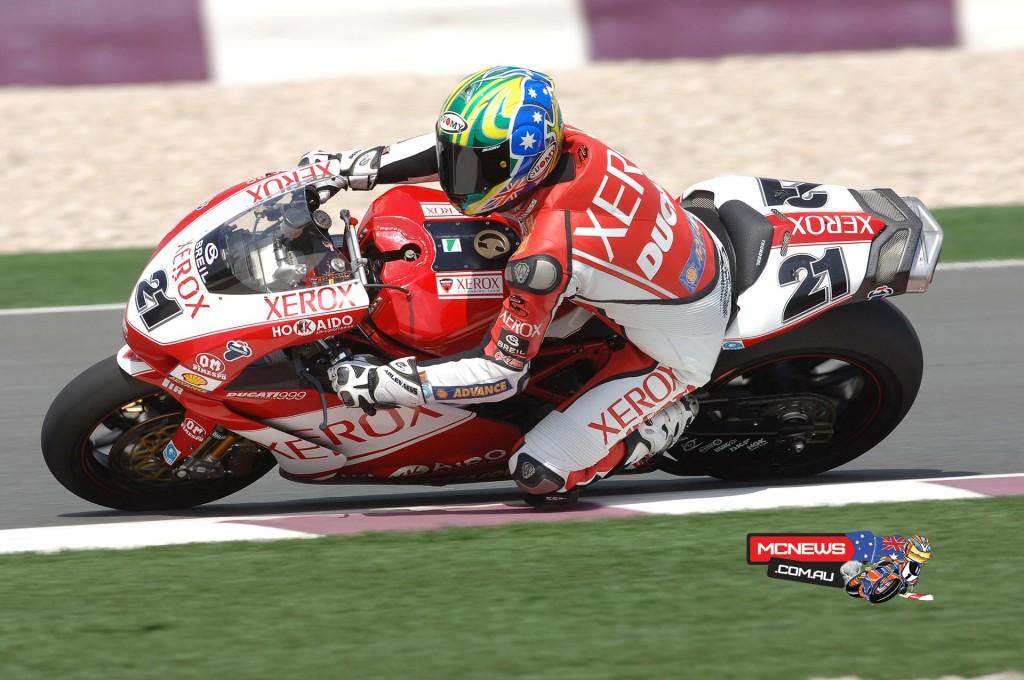 2006 WorldSBK Qatar Troy Bayliss