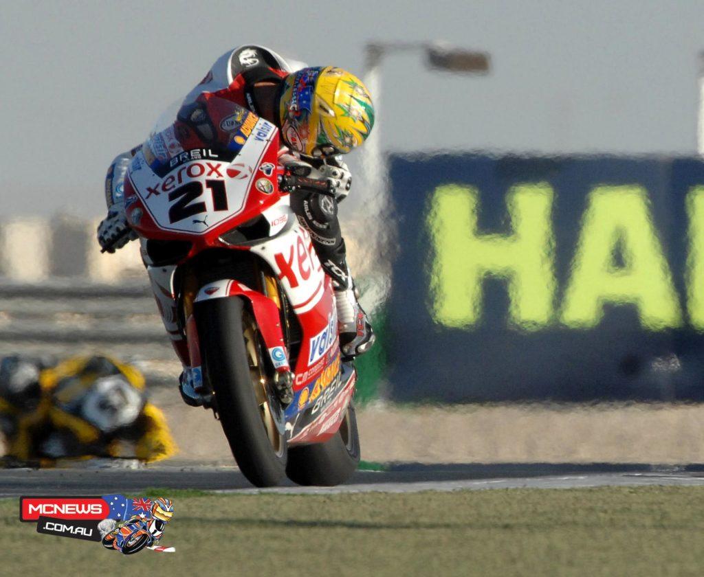 Troy Bayliss (AUS) 2008 World Superbike Qatar