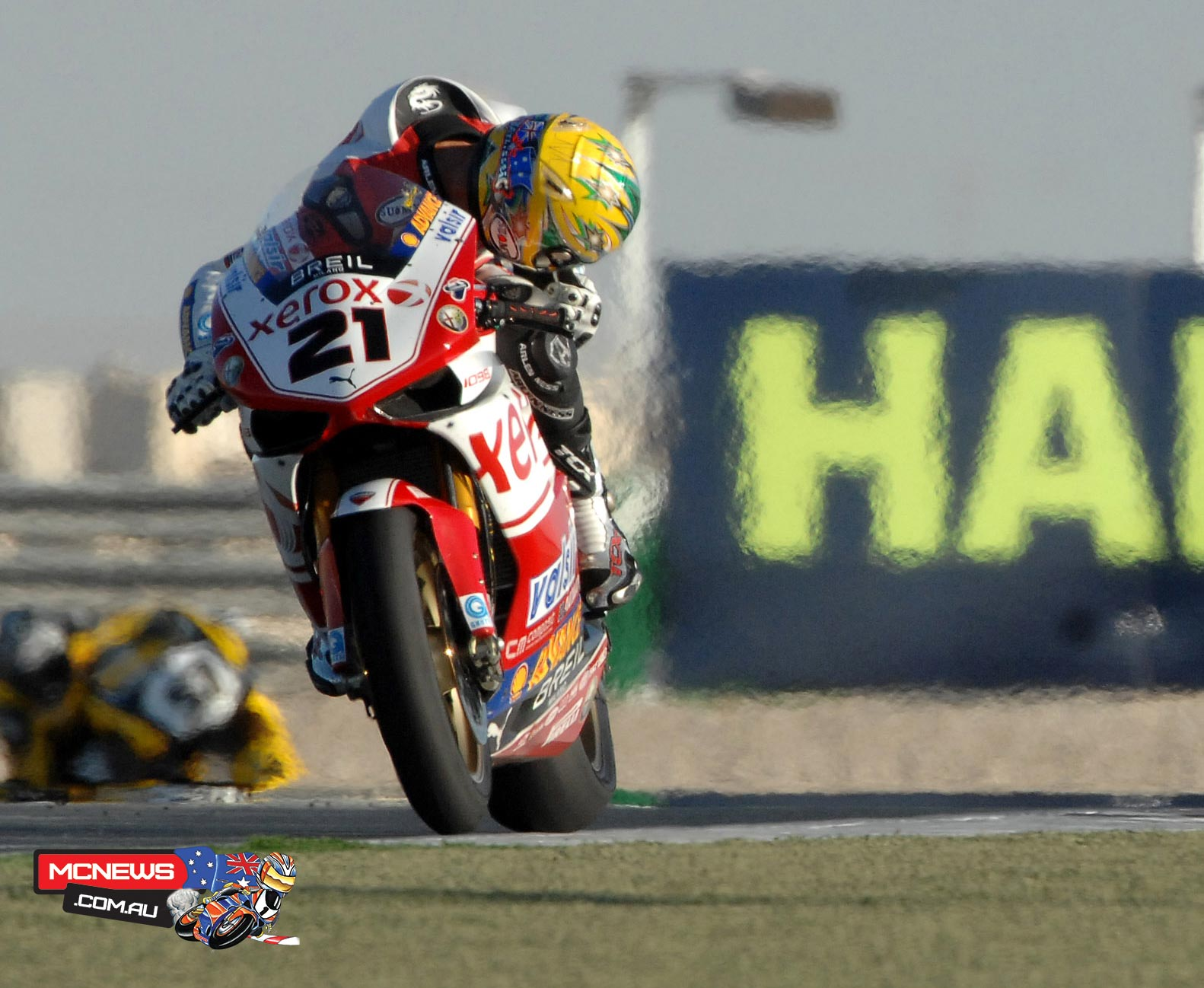 Troy Bayliss (AUS) 2008 World Superbike Qatar