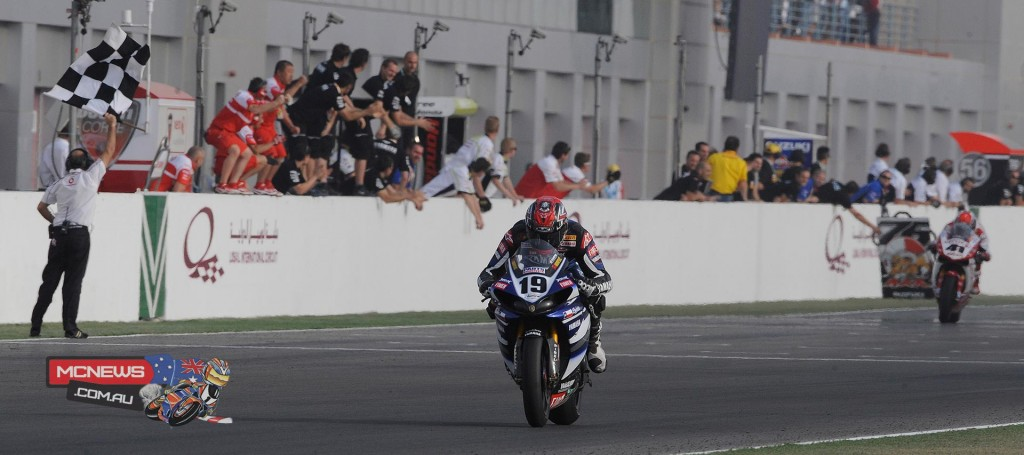 Ben Spies 2009 World Superbike Qatar