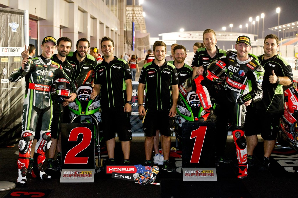 WorldSBK 2015 Qatar - Qualifying - Kawasaki 1-2WorldSBK 2015 Qatar - Qualifying - Kawasaki 1-2