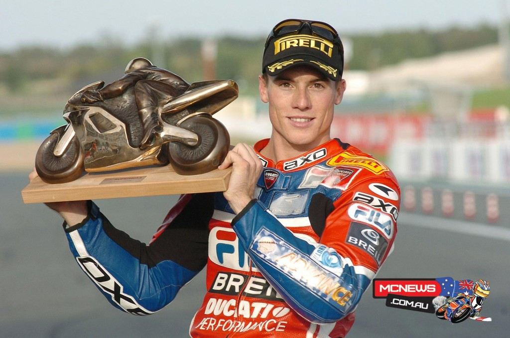 James Toseland (GBR) WorldSBK Champion Magny-Cours 2004