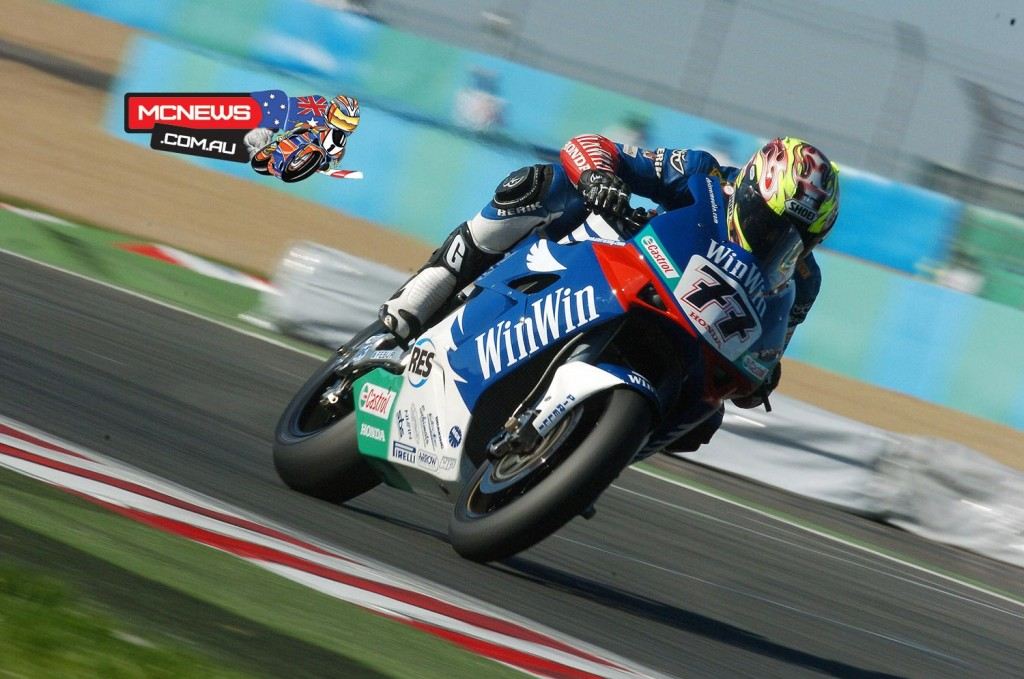 Chris Vermeulen on his way to victory at Magny-Cours in 2005