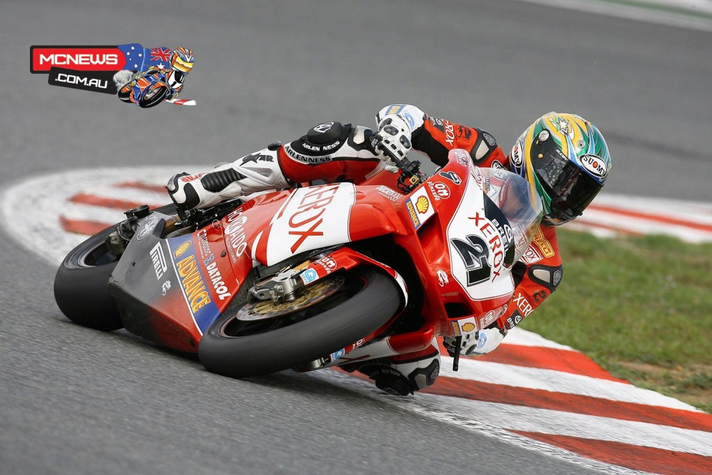 Troy Bayliss (AUS) - 2006 - Magny-Cours
