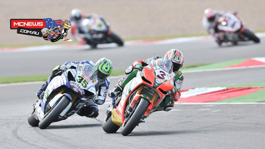 Max Biaggi (ITA) and Cal Crutchlow (GBR) - 2010 - Magny-Cours
