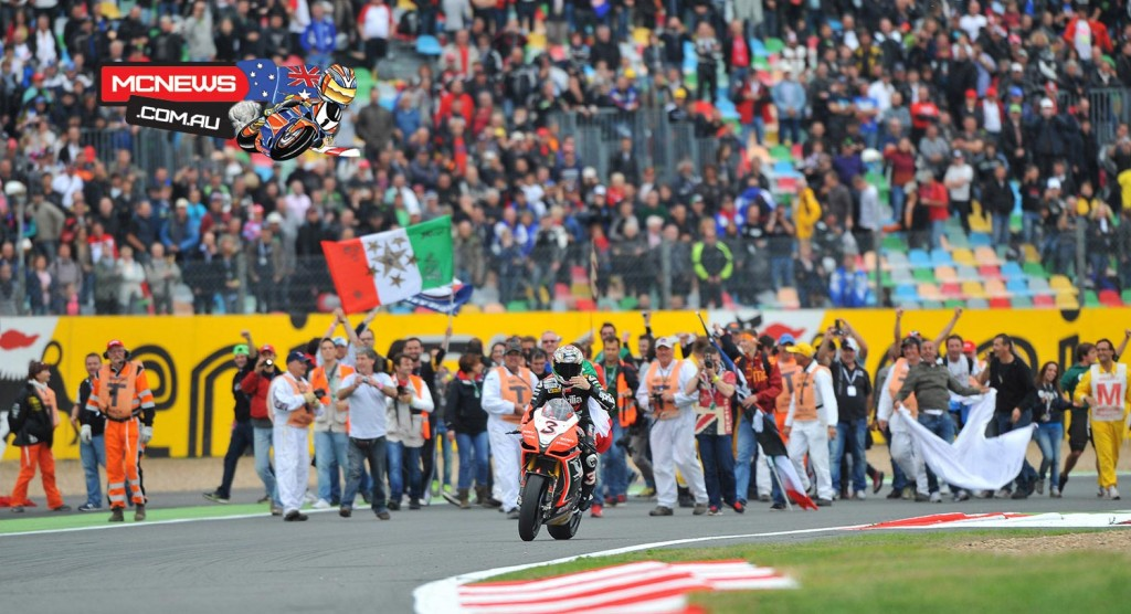 Max Biaggi clinches his second WorldSBK title by just half a point - 2012 - Magny-Cours