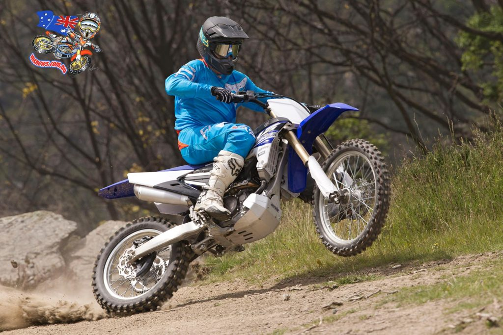 Josh Coppins on the YZ250FX