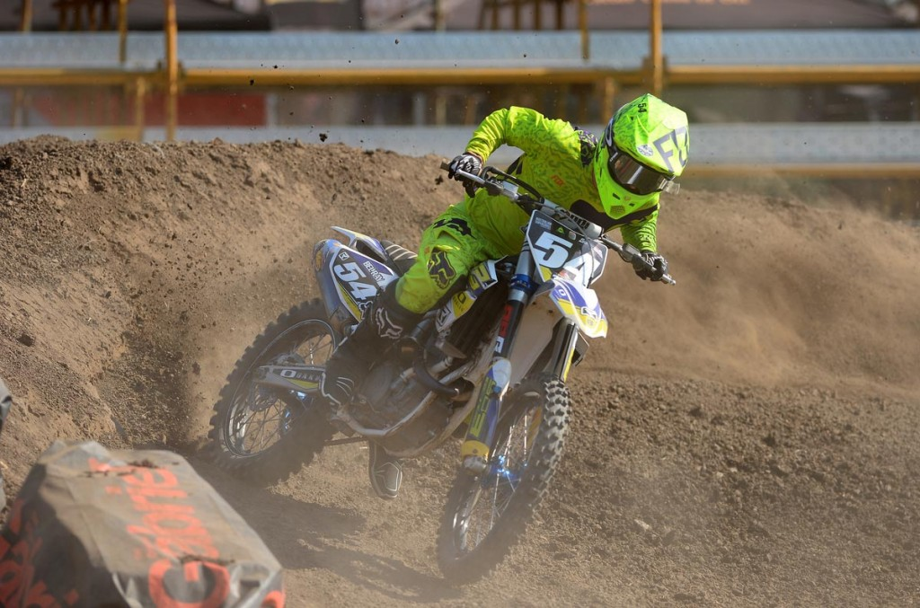 South Australian ace Luke Arbon took his SD3 Husqvarna to third at Jimboomba