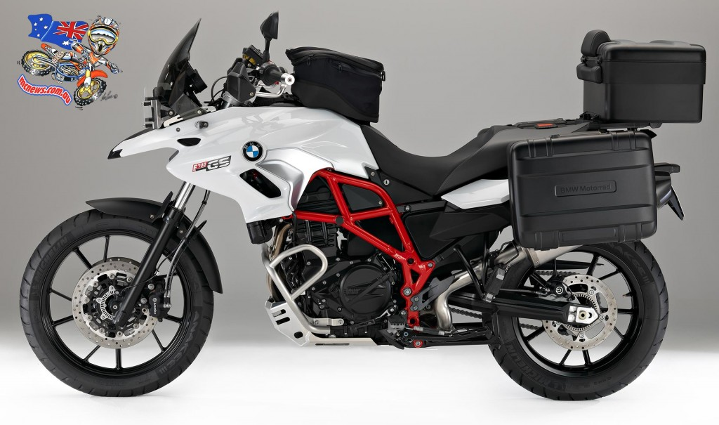 2016 BMW F 700 GS Fully loaded with optional accessories