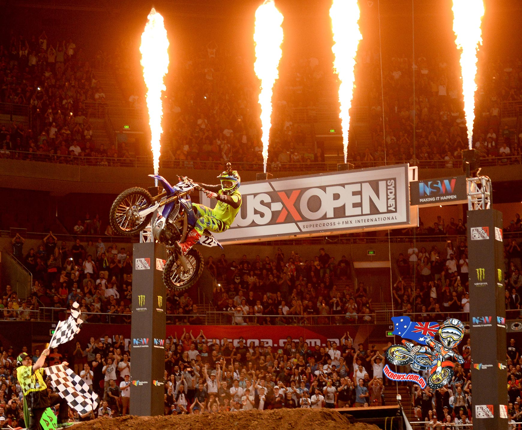Chad Reed wins AUS-X Open extravaganza