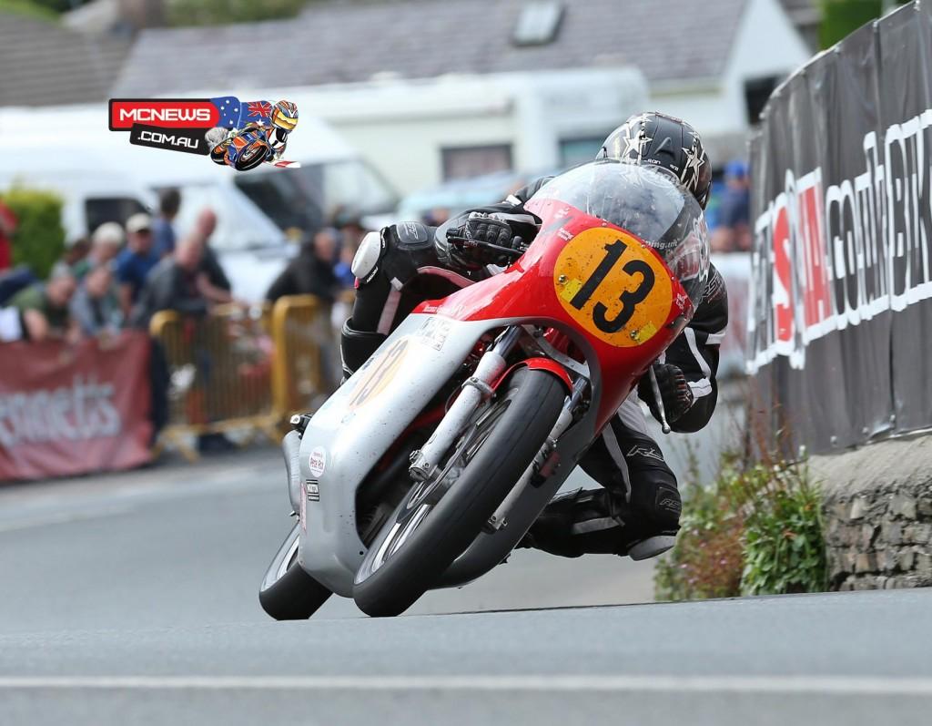 Classic TT 500cc winner Dean Harrison (500cc MV Agusta)