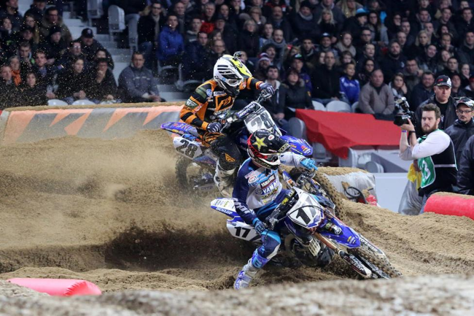 Cooper Webb and Peick doing battle in France