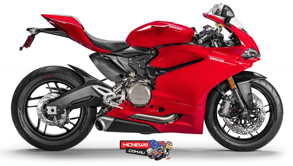 Ducati 959 Panigale is Australia's #2 selling big-bore sportsbike
