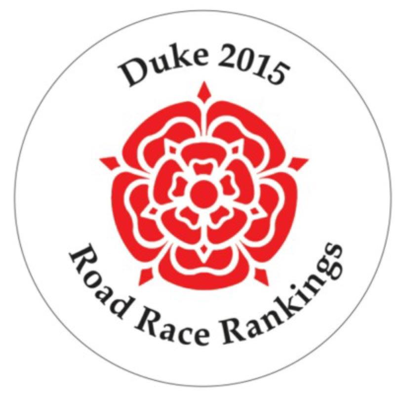 2015 Duke Road Race Rankings