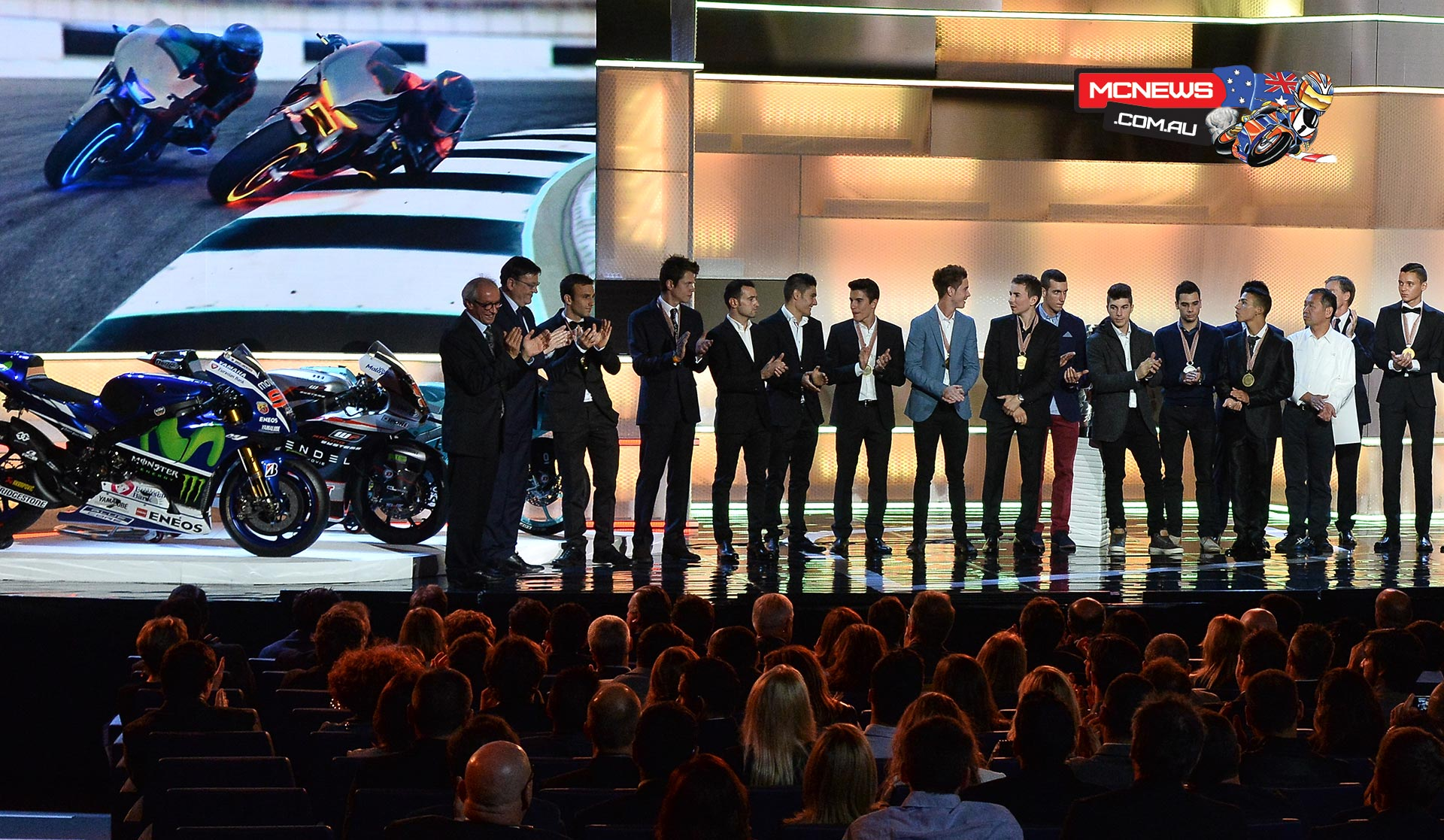 FIM Awards Ceremony completes 2015 MotoGP season