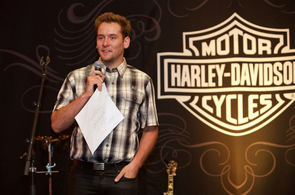2015 Harley-Davidson Apprentice of the Year named with Adam Towell from Gasoline Alley bestowed the title