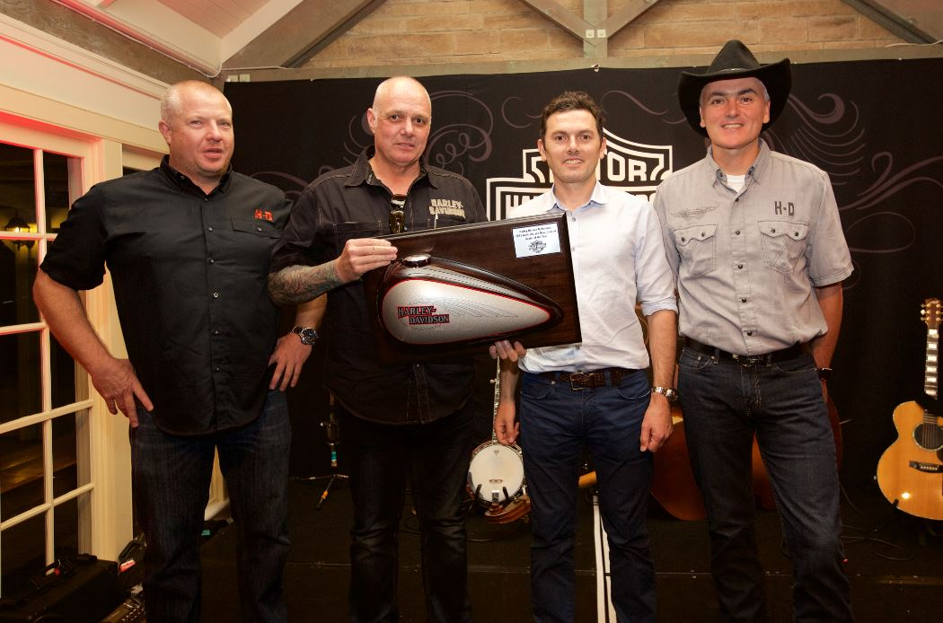 For the Harley-Heaven group, claiming the 2015 award is a continuation of their form after taking out the Australian Dealer of the Year title in 2014