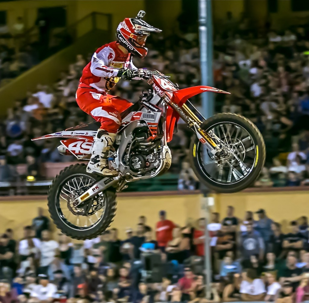 American Jimmy Decotis continued his SX2 finals winning streak to extend his championship points lead going into the fourth round at Jimboomba in two weekend's time.