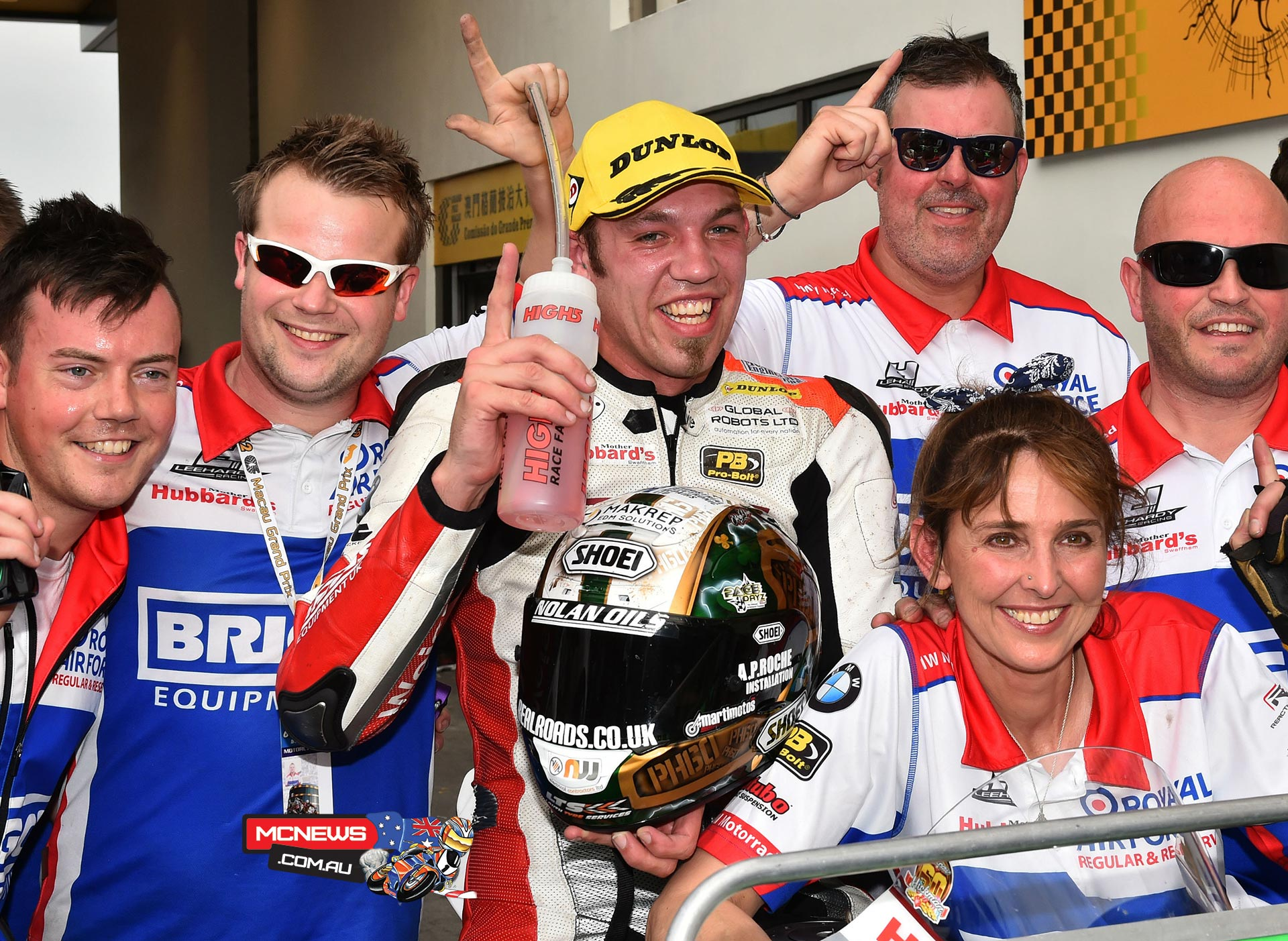 Peter Hickman 2015 Macau Grand Prix winner