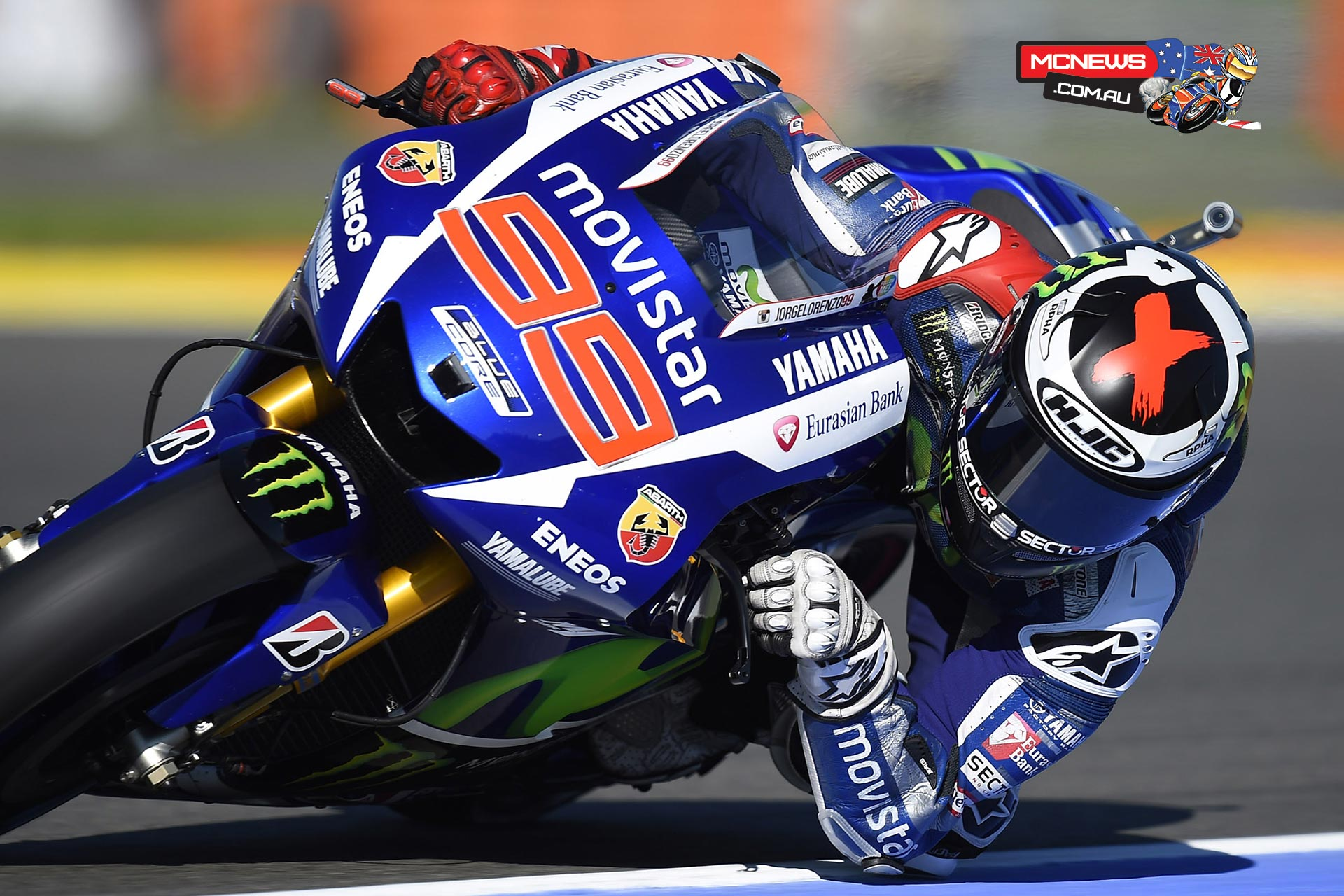 Jorge Lorenzo finished on top of the combined timesheets after Friday's tension-fuelled Practice at the Valencia GP ahead of Marquez and Pedrosa, with his title rival and teammate Valentino Rossi in fifth.