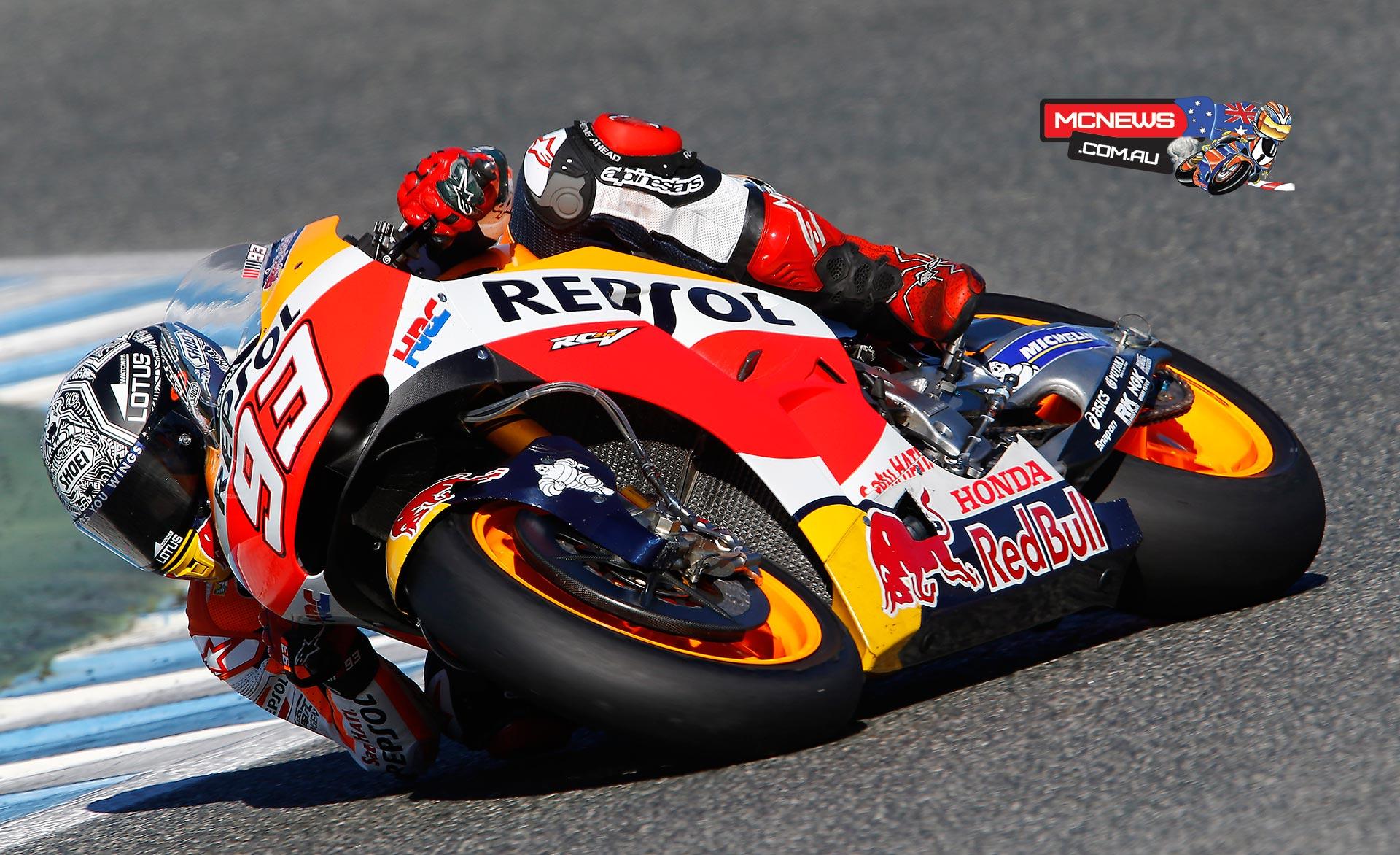 MotoGP Jerez Test - November, 2015 - Marc Marquez