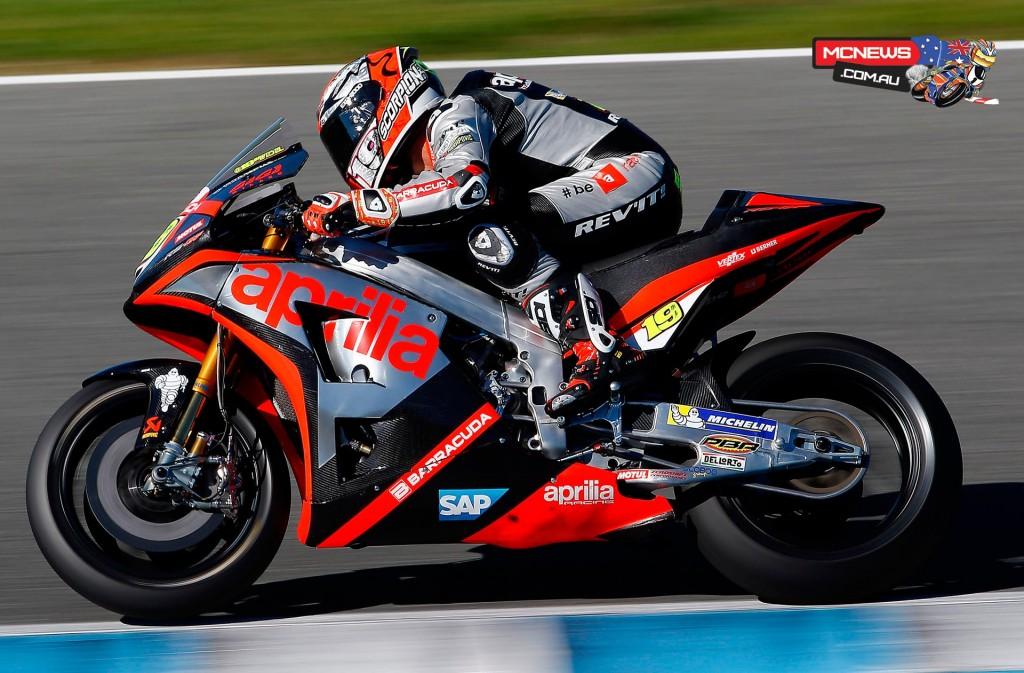 Alvaro Bautista - Jerez MotoGP Test - November 2015