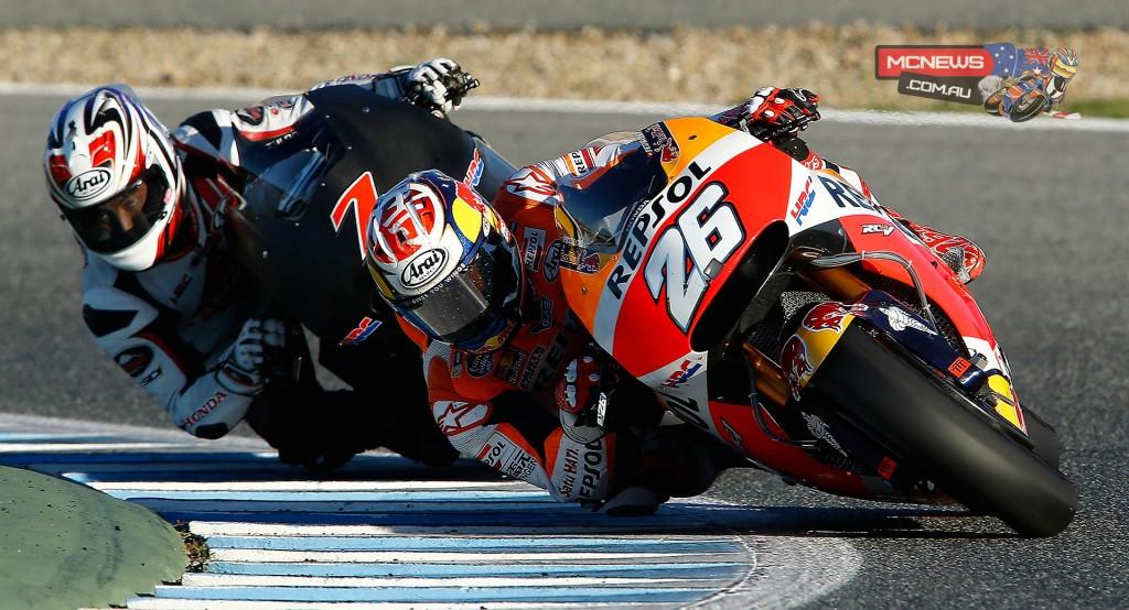 Dani Pedrosa - Jerez MotoGP Test - November 2015