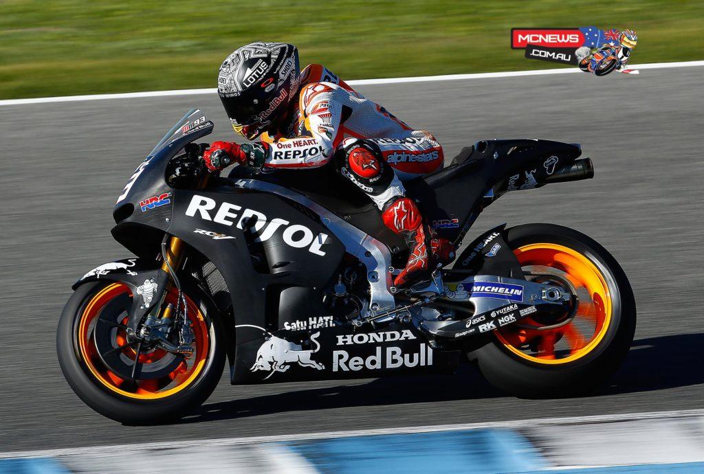 Marc Marquez - Jerez MotoGP Test - November 2015