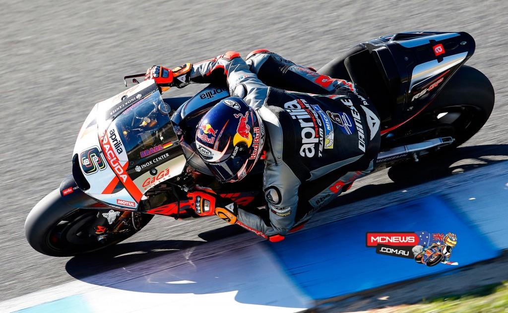Stefan Bradl - Jerez MotoGP Test - November 2015