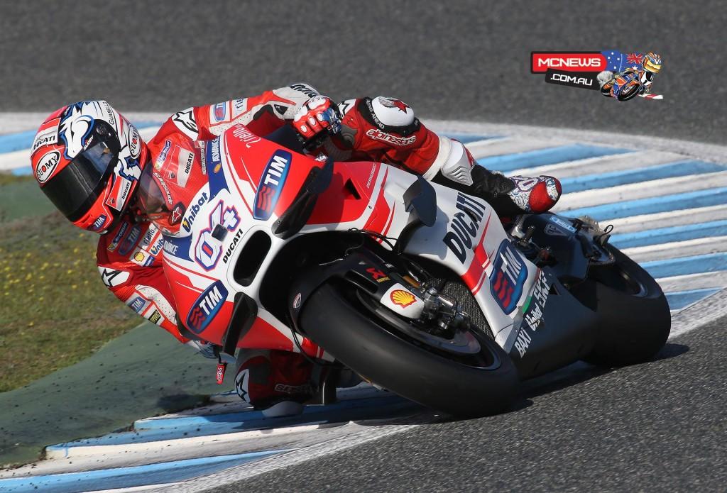 Andrea Dovizioso - Jerez MotoGP Test - November 2015